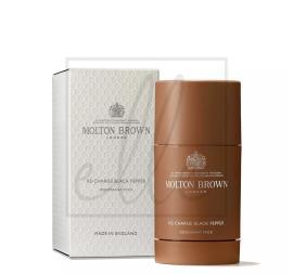 Molton brown men deodorant stick recharge black pepper - 75g