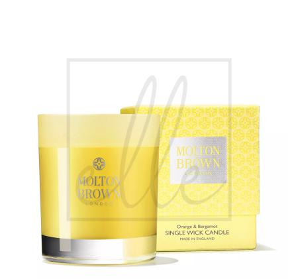 Molton brown london single wick candle - yellow