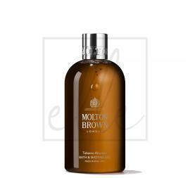 Molton brown bath & shower gel, tobacco absolute - 300ml