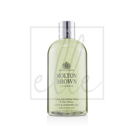 Molton brown dewy lily of the valley & star anise bath & shower gel - 300ml