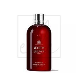 Molton brown bath & shower gel, rosa absolute - 300ml