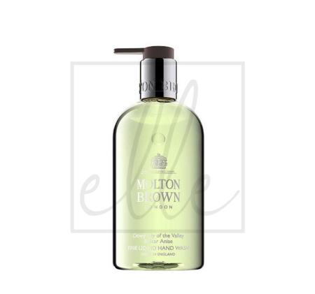 Molton brown dewy lily of the valley & star anise fine liquid hand wash - 300ml