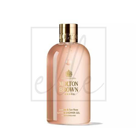 Molton brown bath & shower gel jasmine & sun rose - 300ml