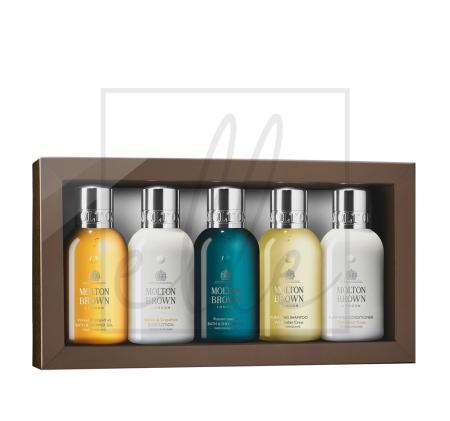 Molton brown the body & hair travel collection - 5 x 100ml