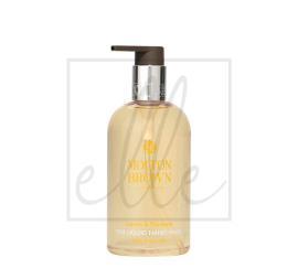 Molton brown lemon & mandarin fine liquid hand wash - 300ml