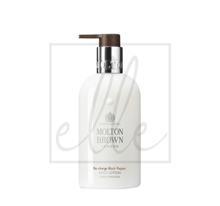 Molton brown re-charge black pepper body lotion - 300ml