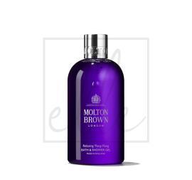Molton brown relaxing ylang-ylang bath & shower gel - 300ml