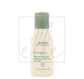 Aveda shampure hand and body wash - 50ml (travel size)