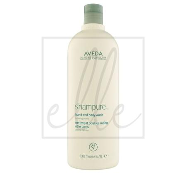 Aveda shampure hand and body wash - 1000ml