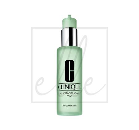 Clinique liquid facial soap extra mild (mild for dry/combination skin) - 200ml
