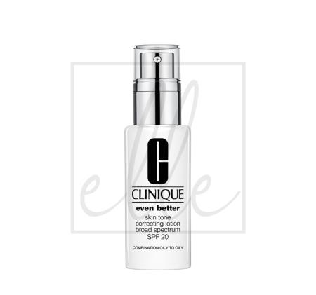 Clinique even better skin tone correcting lotion broad spectrum spf 20 - 50ml