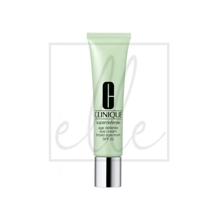 Clinique superdefence eye cream  15