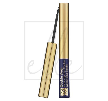 Double wear zero-smudge liquid eyeliner - 01 black 99999