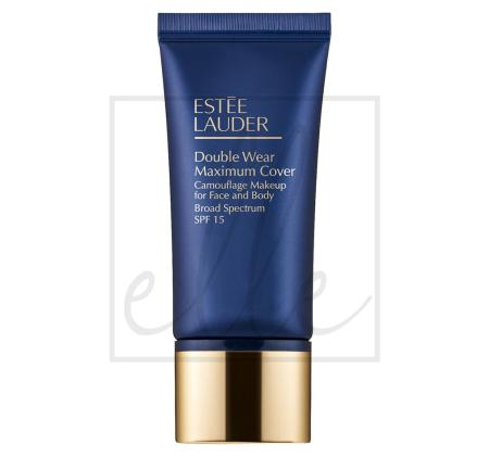 Double wear maximum cover camouflage makeup for face and body spf 15 - 30ml