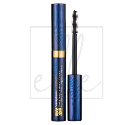 Sumptuous infinite daring length & volume mascara - 01 black (6ml) 99999