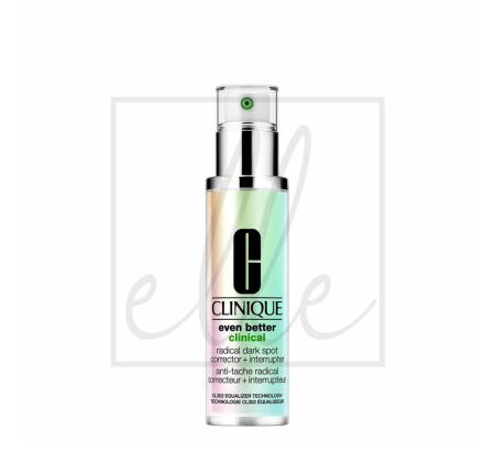 Clinique even better clinical radical dark spot corrector + interrupter serum - 50ml