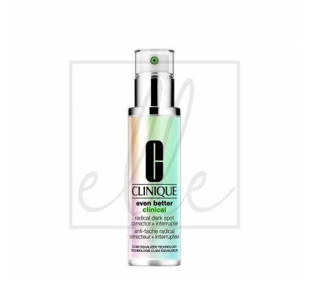 Clinique even better clinical radical dark spot corrector + interrupter serum - 100ml