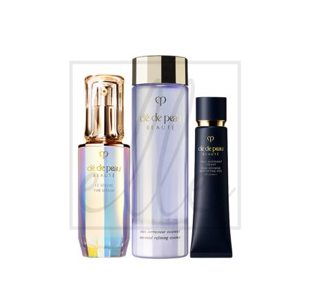 Clé de peau beauté the radiance heroes set