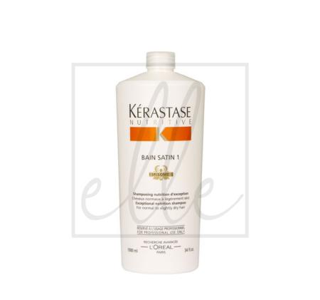 Kerastase nutritive bain satin 1 exceptional nutrition shampoo (for normal to slightly dry)