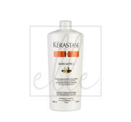 Kerastase nutritive bain satin 2 shampoo - 1000ml