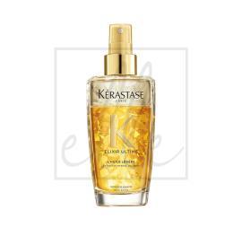 Kerastase elixir ultime l'huile legere bi-phase oil hairspray - 100ml