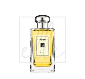 Amber & lavender cologne - 100ml