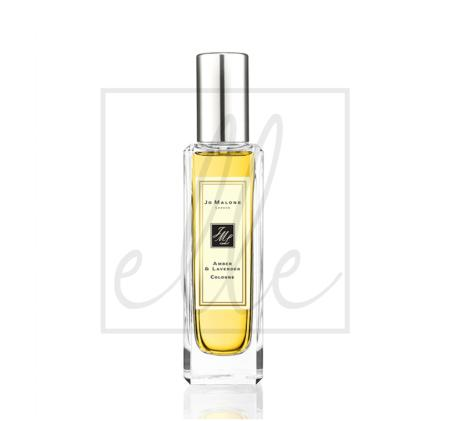 Jo malone amber & lavender cologne spray (originally without box) - 30ml