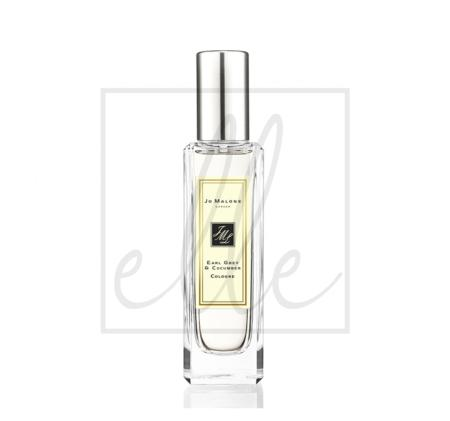 Cologne 30ml early grey & cucumber