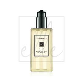 Jo malone peony & blush suede body & hand wash (with pump) - 250ml