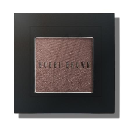 Metallic powder eye shadow cognac