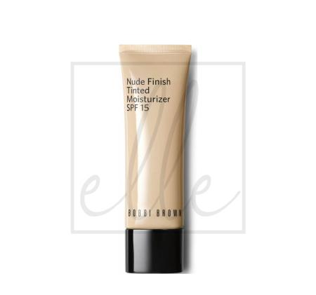 Bobbi brown nude finish tinted moisturizer spf 15 - #light to medium