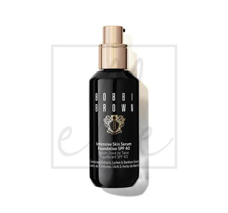 Bobbi brown intensive skin serum foundation spf 40 - porcelain (n-012)