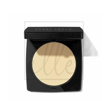 Bobbi brown pressed powder-pale yellow - 10g