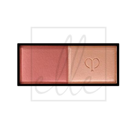 Clé de peau beauté powder blush duo refill - 104