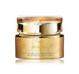 Clé de peau beauté precious gold vitality mask - 75ml