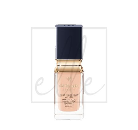 Clé de peau beauté radiant fluid foundation natural spf 25 pa++ - #wb00 very light rose