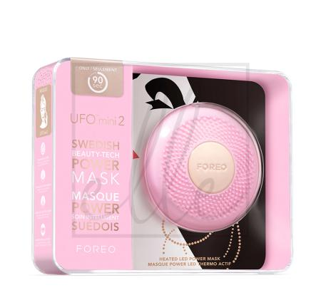 Foreo ufo mini 2 mini power mask & light therapy device - #pearl pink