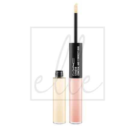 Studio conceal and correct duo - pale yellow/pale pink