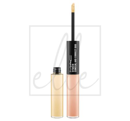 Studio conceal and correct duo - mid peach / mid yellow