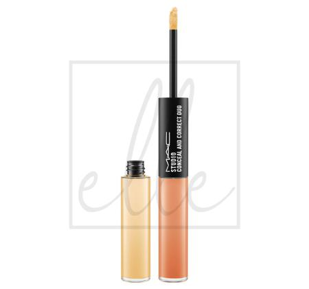 Studio conceal and correct duo - rich yellow / burnt coral