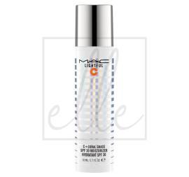 Lightful c + coral grass spf30 moisturizer - 50ml
