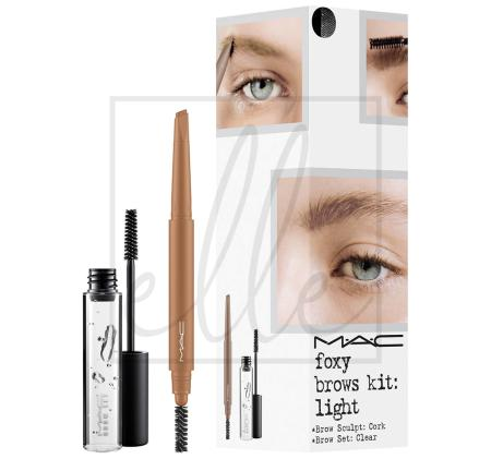 Instant artistry / foxy brows kit - light