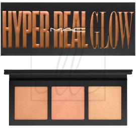 Hyper real glow palette/ shimmy peach