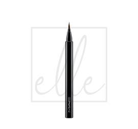Brushstroke 24 liner - brushbrown.67gm/.02oz