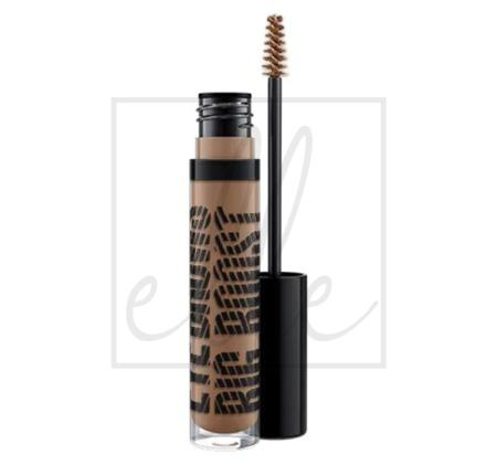 Mac eye brows big boost fibre gel - brunette