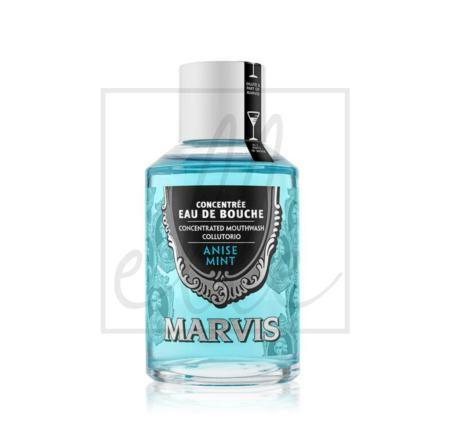 Marvis concentrated mouthwash aniseed mint - 120ml