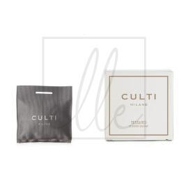 Culti home scented sachet - tessuto 7x7