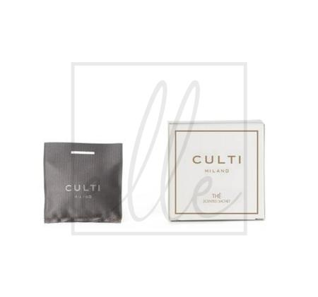 Culti home scented sachet - the
