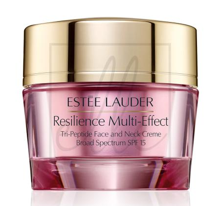 Resilience multi-effect tri-peptide face & neck creme spf 15 - 50ml (normal/combination skin)