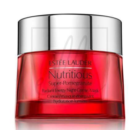 Nutritious super-pomegranate radiant energy night creme/mask - 50ml